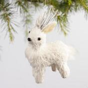 Paper Sparkle Deer Ornament