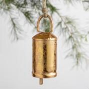 Foiled Bell Ornaments Set of 3