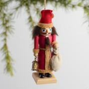 Wood Alpine Nutcracker Ornaments Set of 3