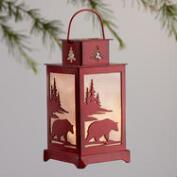 Paper Lodge LED Lantern Ornaments Set of 4