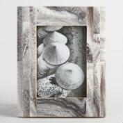White Marble Resin Frame