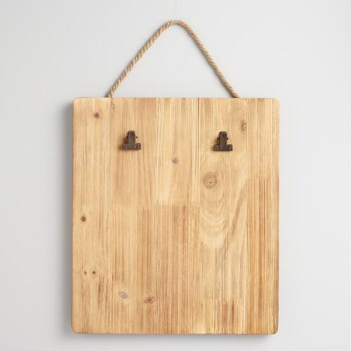 Wood Clipboard Card Holder Wall Decor