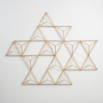 Metal Jaxon Triangle Wall Art