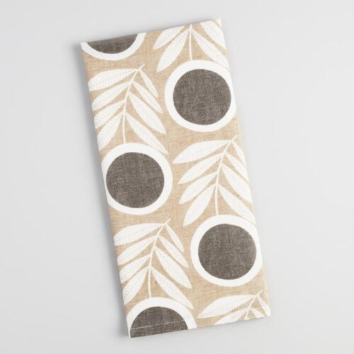 Modern Floral Letta Kitchen Towel