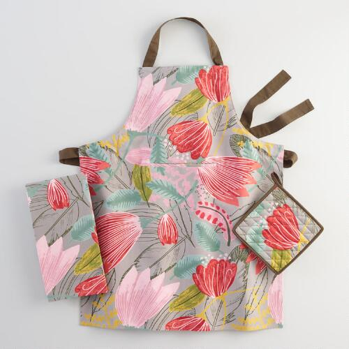 Gigi Floral Kitchen Linen Collection
