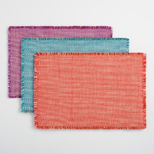 Geo Woven Jute Placemats Collection