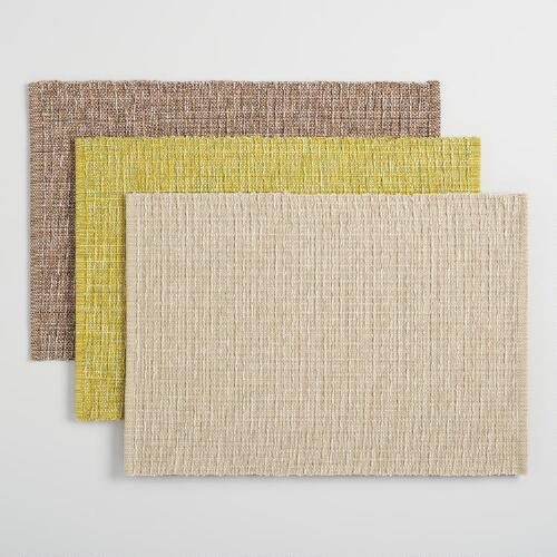 Stripe Woven Placemats Collection