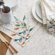 Klara Floral Table Linen Collection