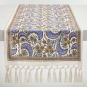 Lavender French Floral Delphine Table Runner