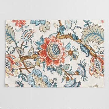 Blue Palampore Anika Placemats Set of 4