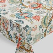 Blue Palampore Anika Tablecloth