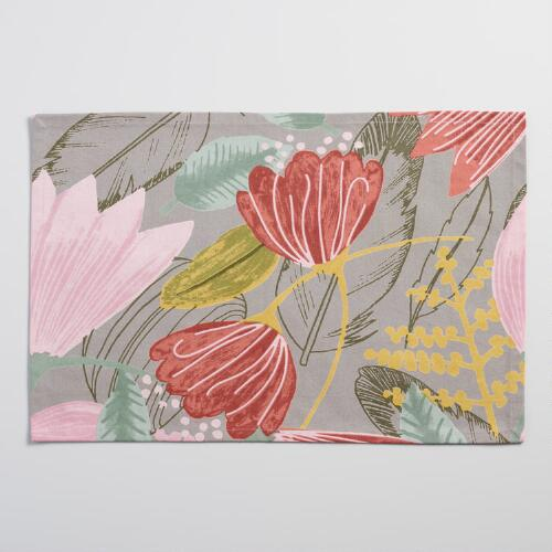 Gigi Floral Placemats Set of 4