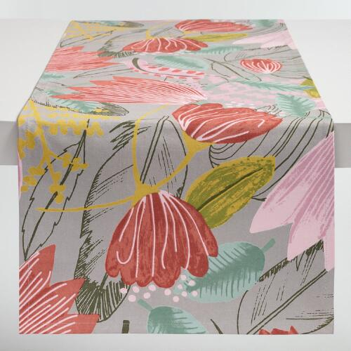 Gigi Floral Table Runner