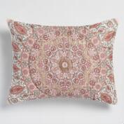 Blush Medallion Mariana Pillow Shams Set of 2