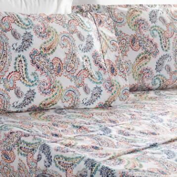 Paisley 4 Piece Sheet Set