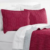 Red & Grey Simone Reversible Bedding Collection