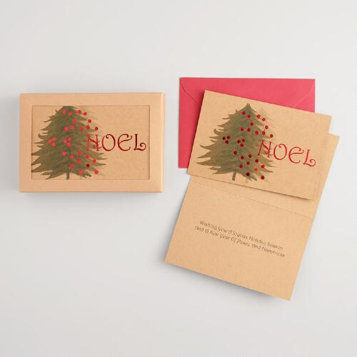 Victorian Noel Boxed Holiday Cards Set of 15