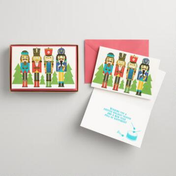 Nutcracker Boxed Holiday Cards Set of 15