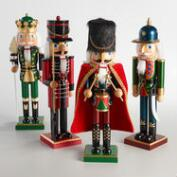 Traditional Tall Nutcrackers Set of 4