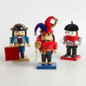 European Chubby Nutcrackers Set of 3