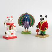 Good Fortune Chubby Nutcrackers Set of 3