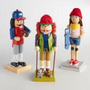 Sporty Nutcrackers Set of 3