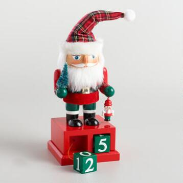 Christmas Countdown Santa Nutcracker