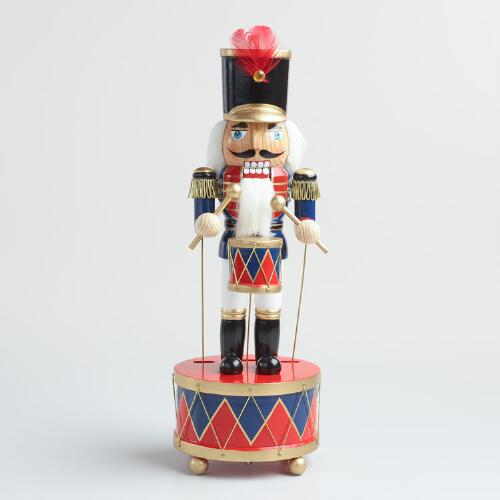 Traditional Nutcracker Music Box