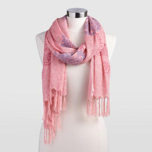 Pink Prayer Shawl