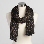 Black and Gold Scarf