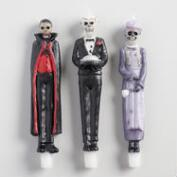 Haunted Mansion Character Taper Candles Set of 3