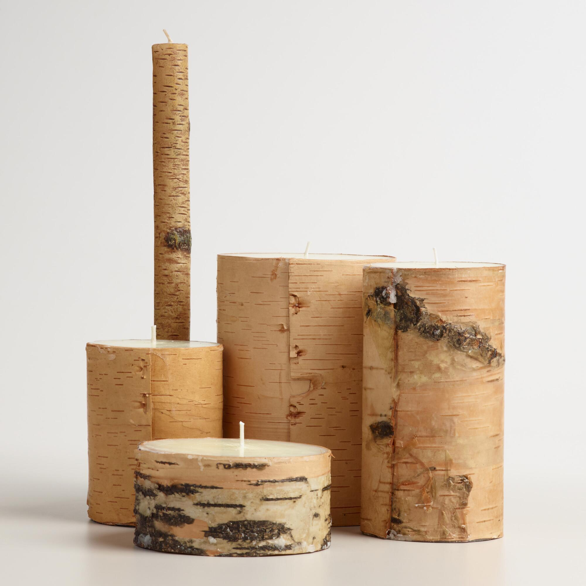 Birch Bark Candle World Market