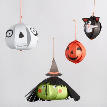 Halloween Hanging Heads Decoration Kit