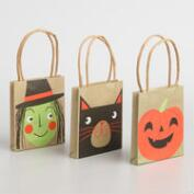 Mini Halloween Trinket Bags Set of 6
