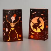Day of the Dead Paper Luminaries Set of 4