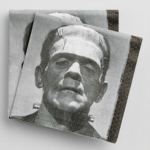 Frankenstein Beverage Napkins 20 Count
