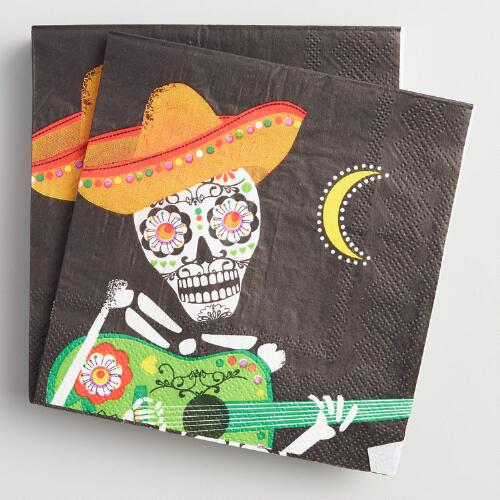 Day of the Dead Beverage Napkins 20 Count