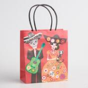 Medium Day of the Dead Serenade Kraft Gift Bags Set of 2