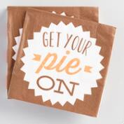 Get Your Pie On Beverage Napkins 20 Count