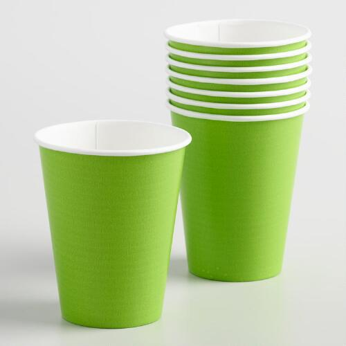 Green Cups Set of 2