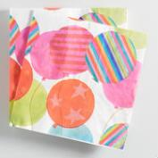 Balloons Lunch Napkins 20 Count