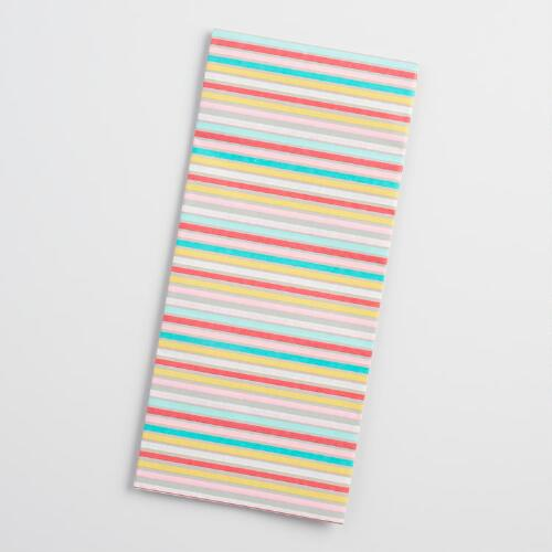 Geometric Stripe Tissue Paper Set of 2