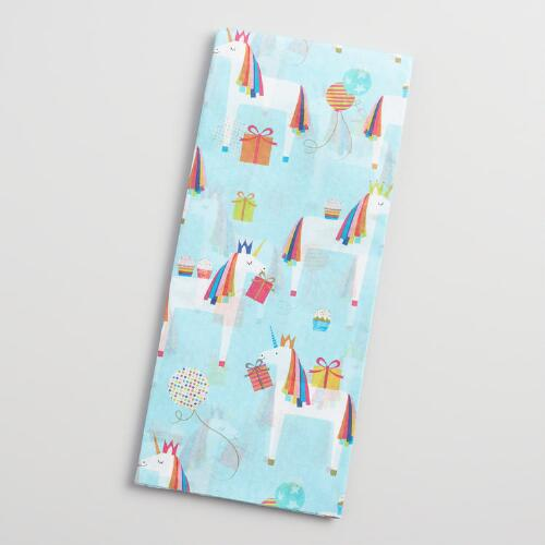 Unicorn Tissue Paper Set of 2