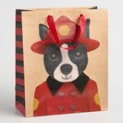 Large Fireman Dog Gift Bag