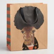 Medium Biker Giraffe Gift Bags Set of 2
