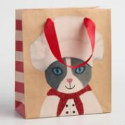Small Chef Cat Gift Bags Set of 2