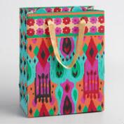 Small Ikat Handmade Gift Bags Set of 2