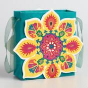 Mini Suzani Cutout Gift Bags Set of 2