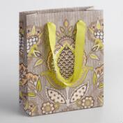 Large Green Ocatavia Handmade Gift Bag