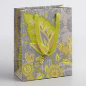 Small Green Octavia Handmade Gift Bags Set of 2